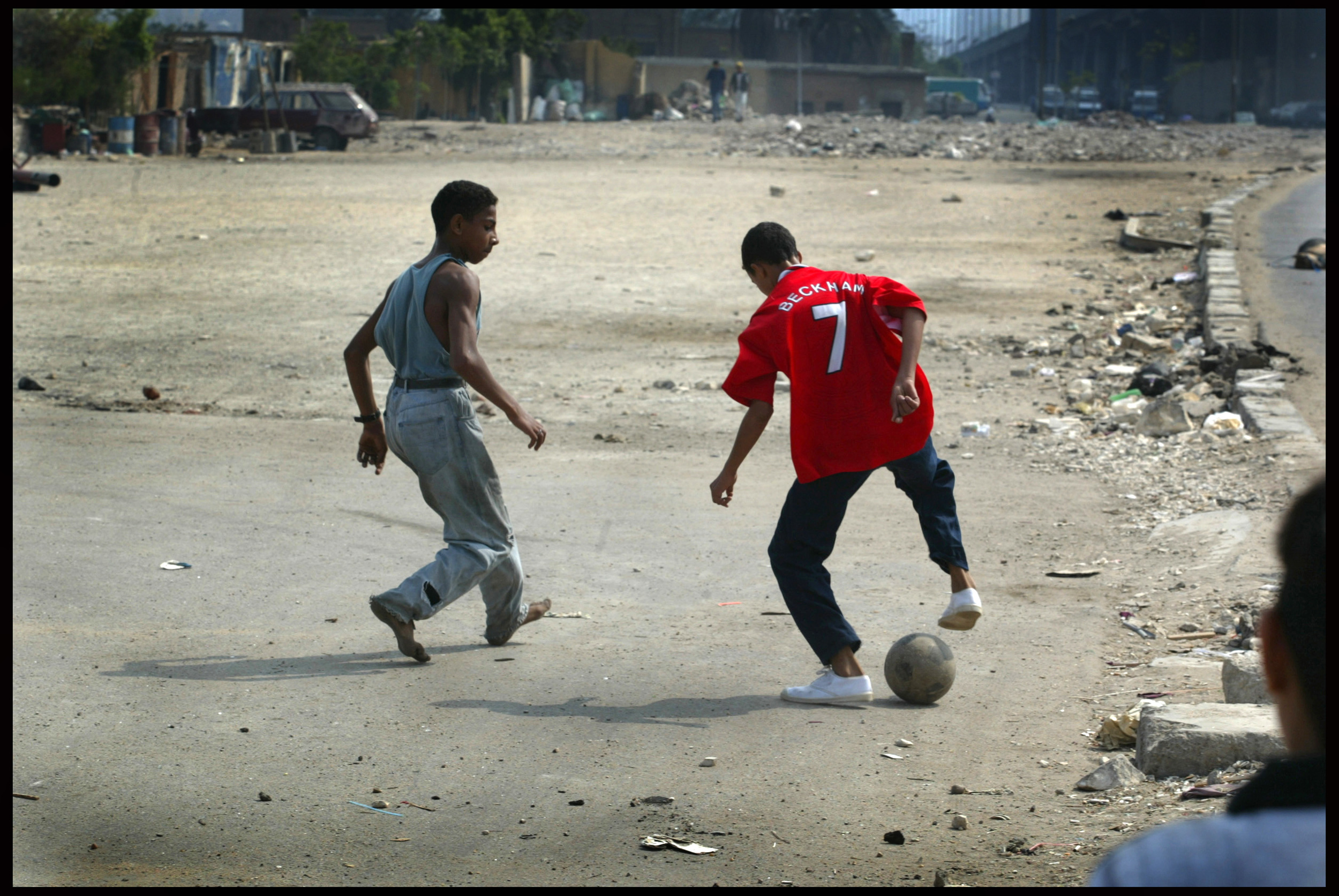 Street football, Cities of the Dead, Cairo