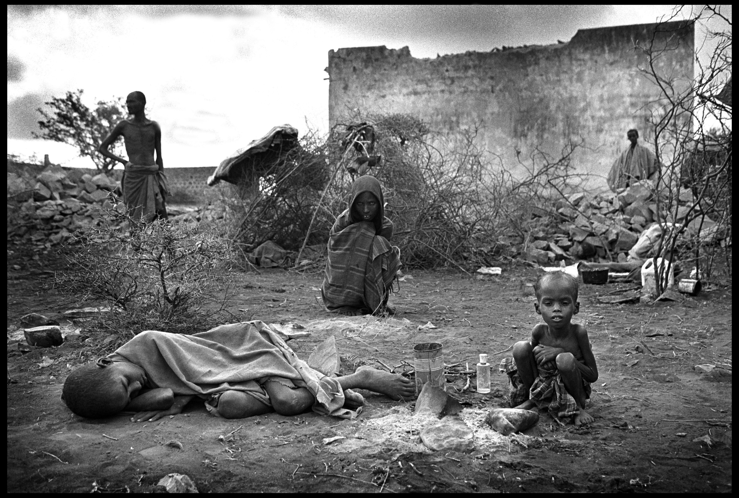 Famine, Baidoa, Somalia
