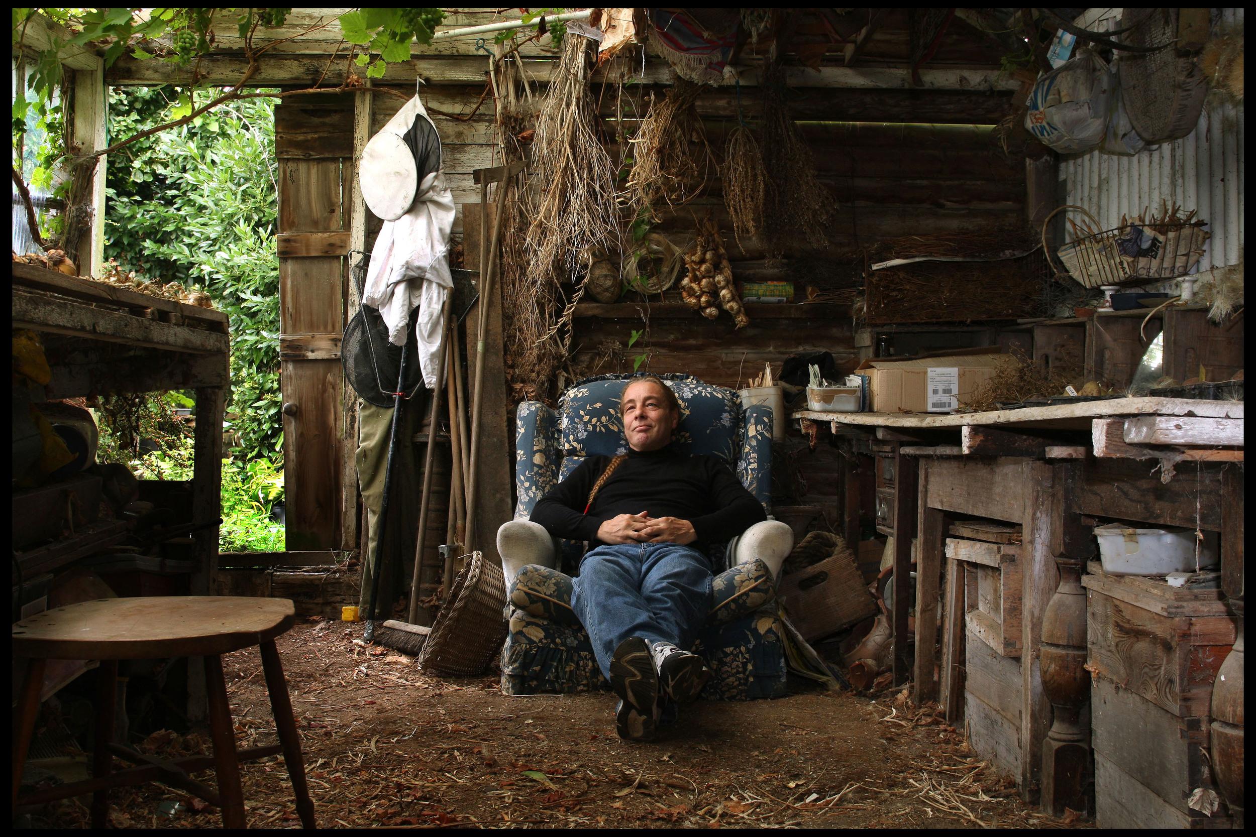 Bob Flowerdew, garden expert