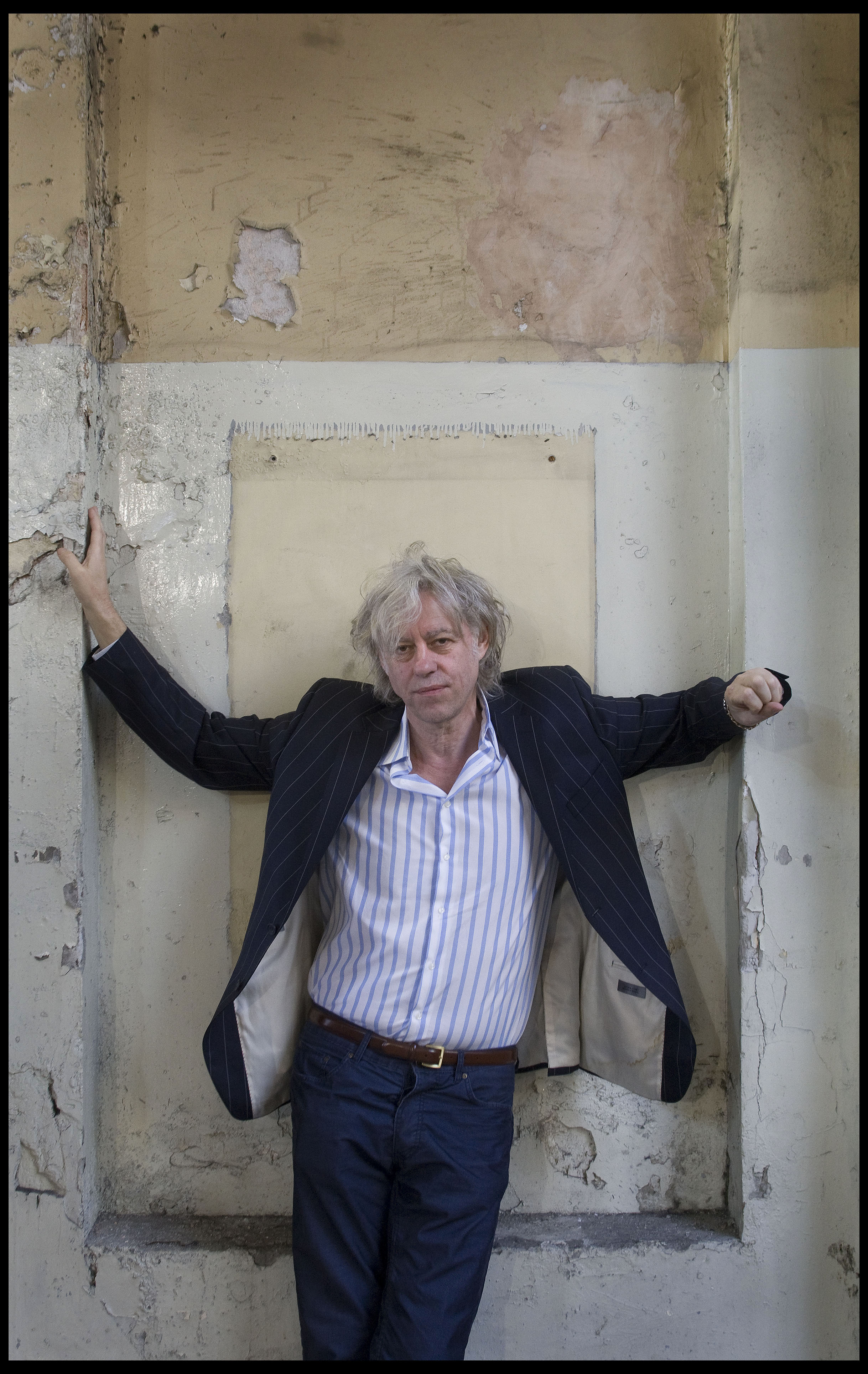 Sir Bob Geldof, political activist, musician