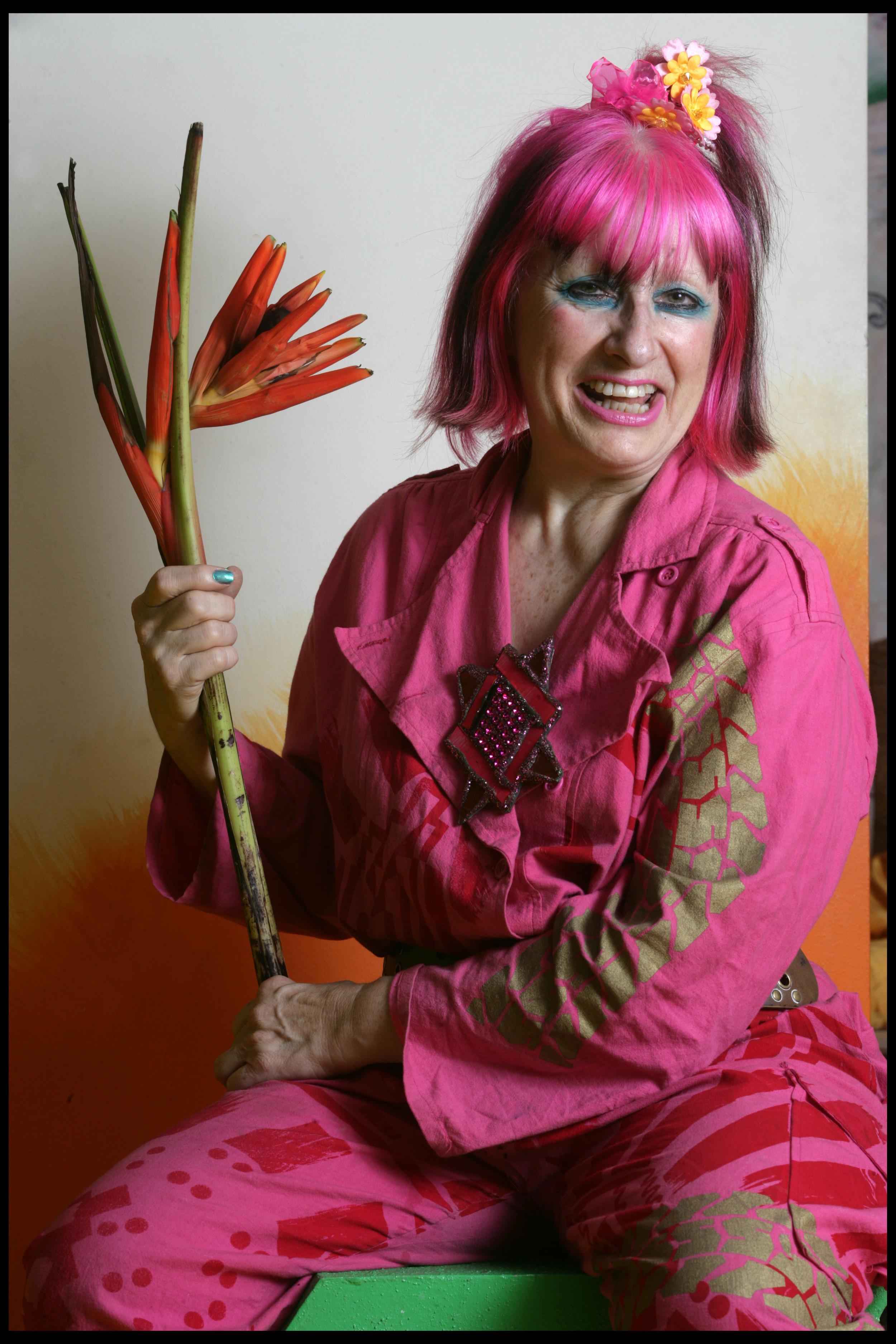 Zandra Rhodes, fashion designer
