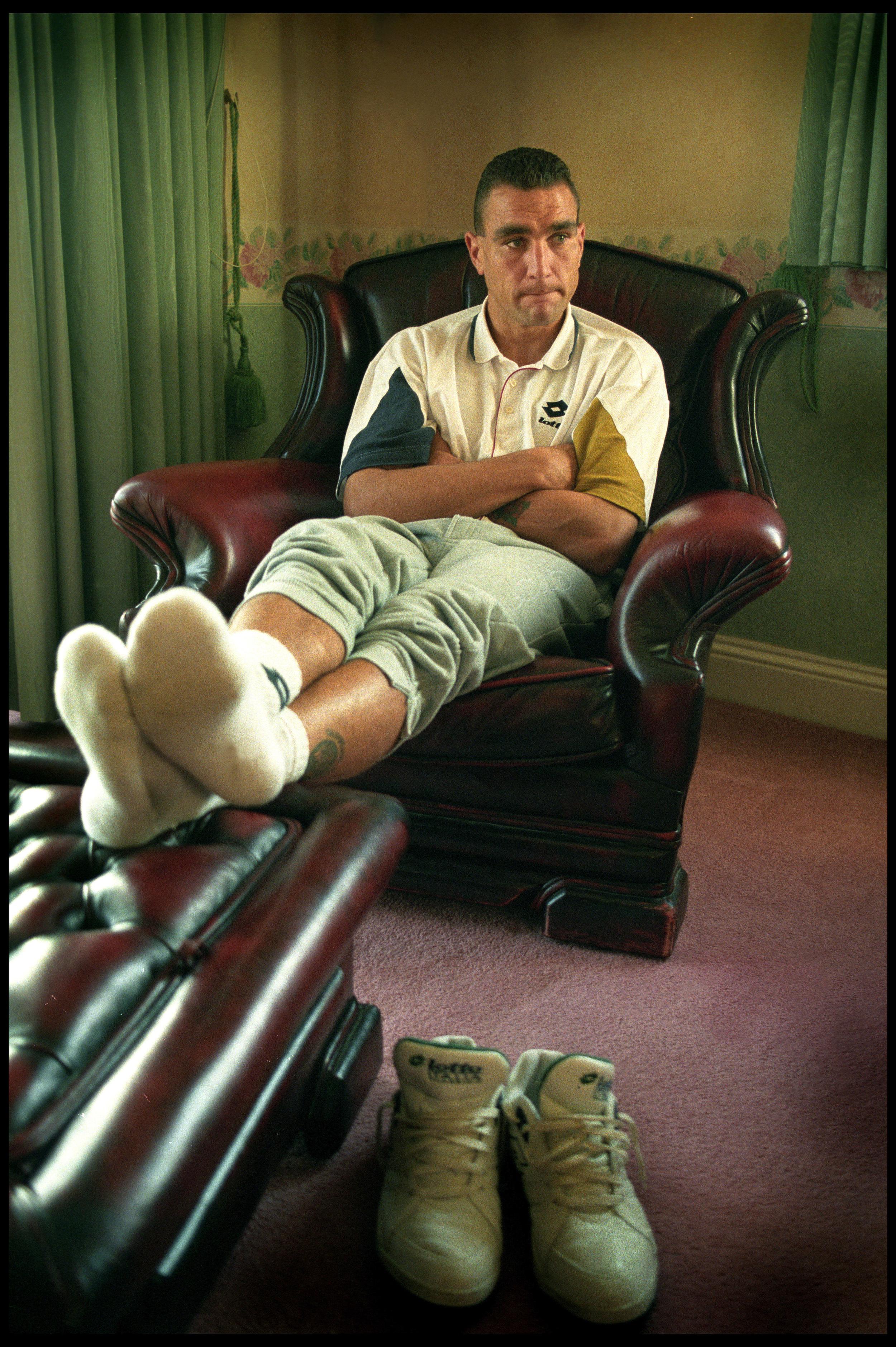Vinnie Jones, actor, ex-footballer
