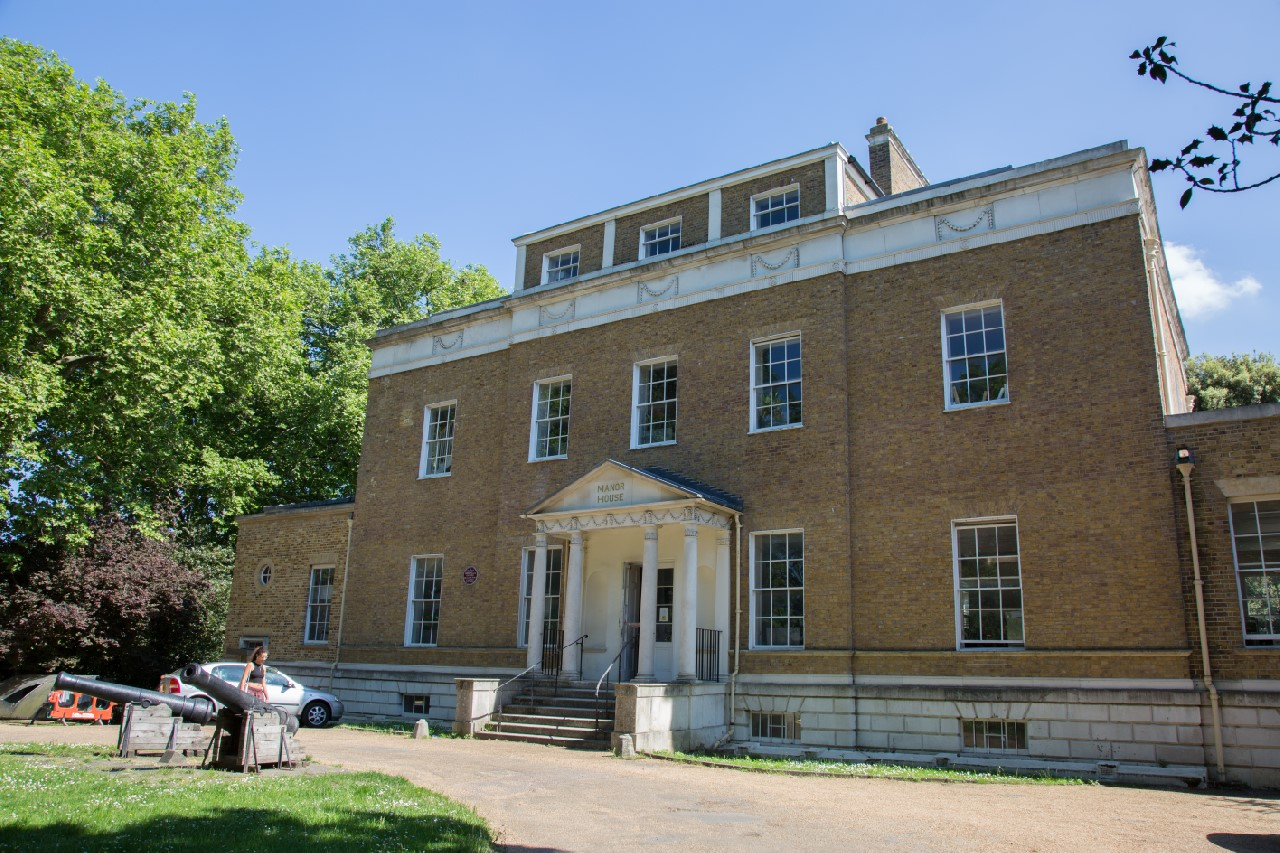 The Manor House, as it has stood since circa 1771. It has served the the people of Lewisham, Lee Green and Hither Green as a library since 1902.