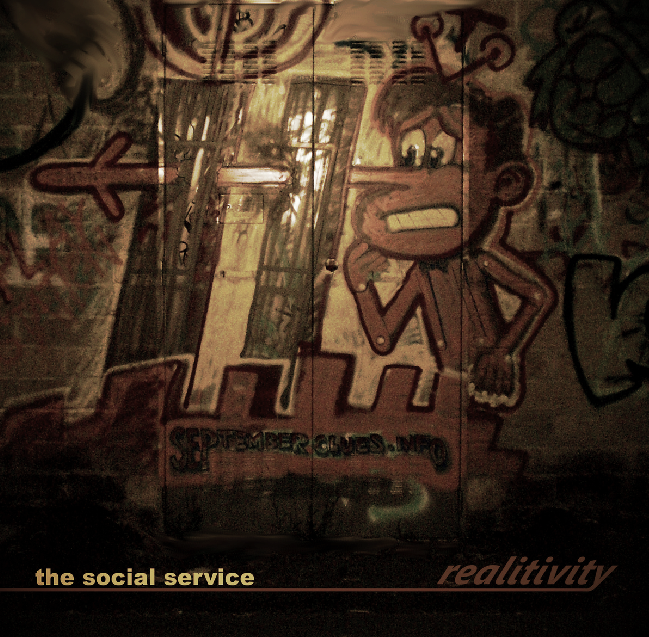 The Social Service's Realitivity very inspired art cover, a wall painting made by Hoi Polloi, a passionate and self-dedicated media fakery investigator (www.cluesforum.info). What may the well-known italian character Pinocchio have to do with the Twin Towers? hmm hmm.