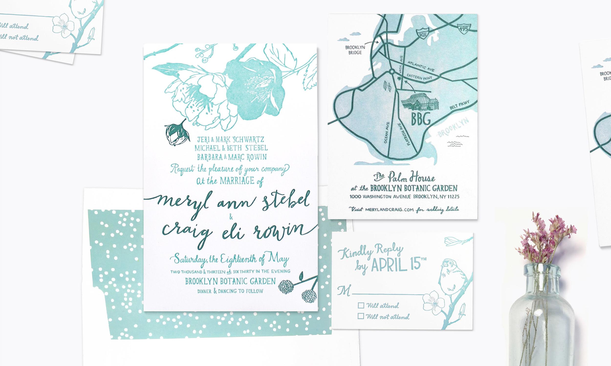 Botanic Garden<strong>Wedding Invitation Suite</strong>