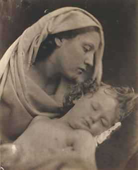 "Julia Margaret Cameron, ""Madonna and Child"" (Mary Hillier and Percy Keown), 1856"