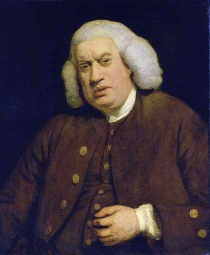 "Sir Joshua Reynolds, ""Samuel Johnson,"" 1772"