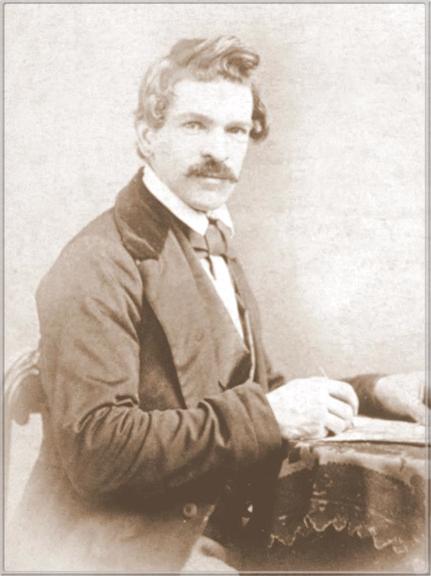 Photograph of Charles Christian Nahl (1818-1878) taken around 1865