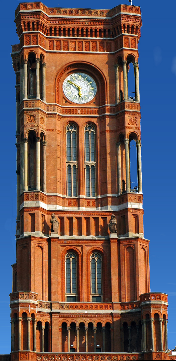 Rotes Rathaus  tower
