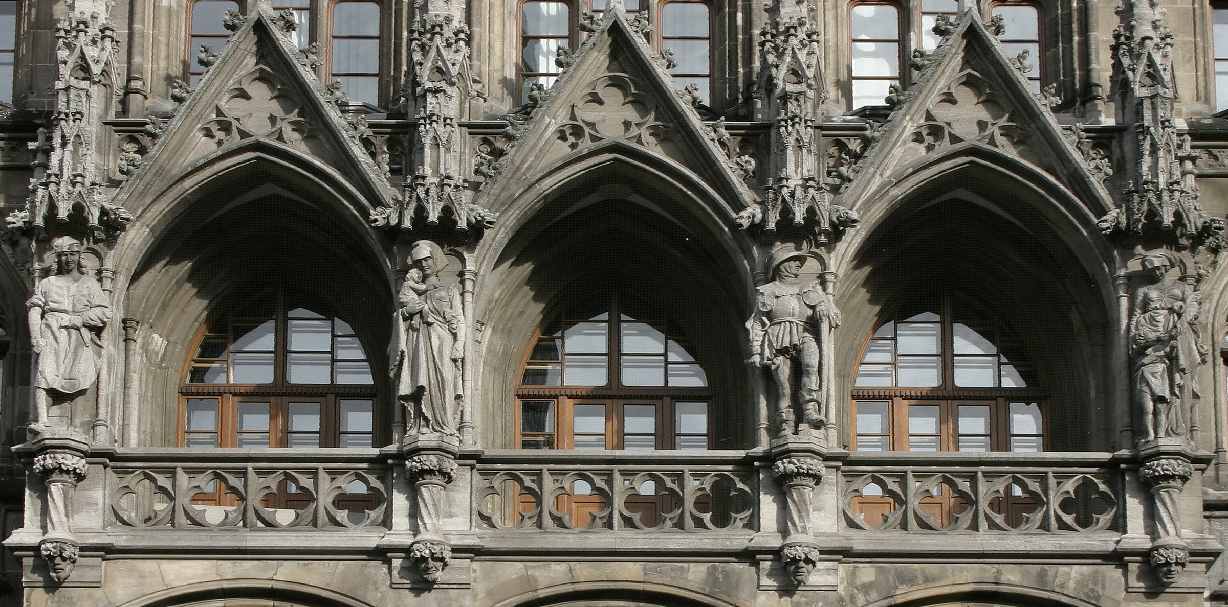 City Hall loggia detail