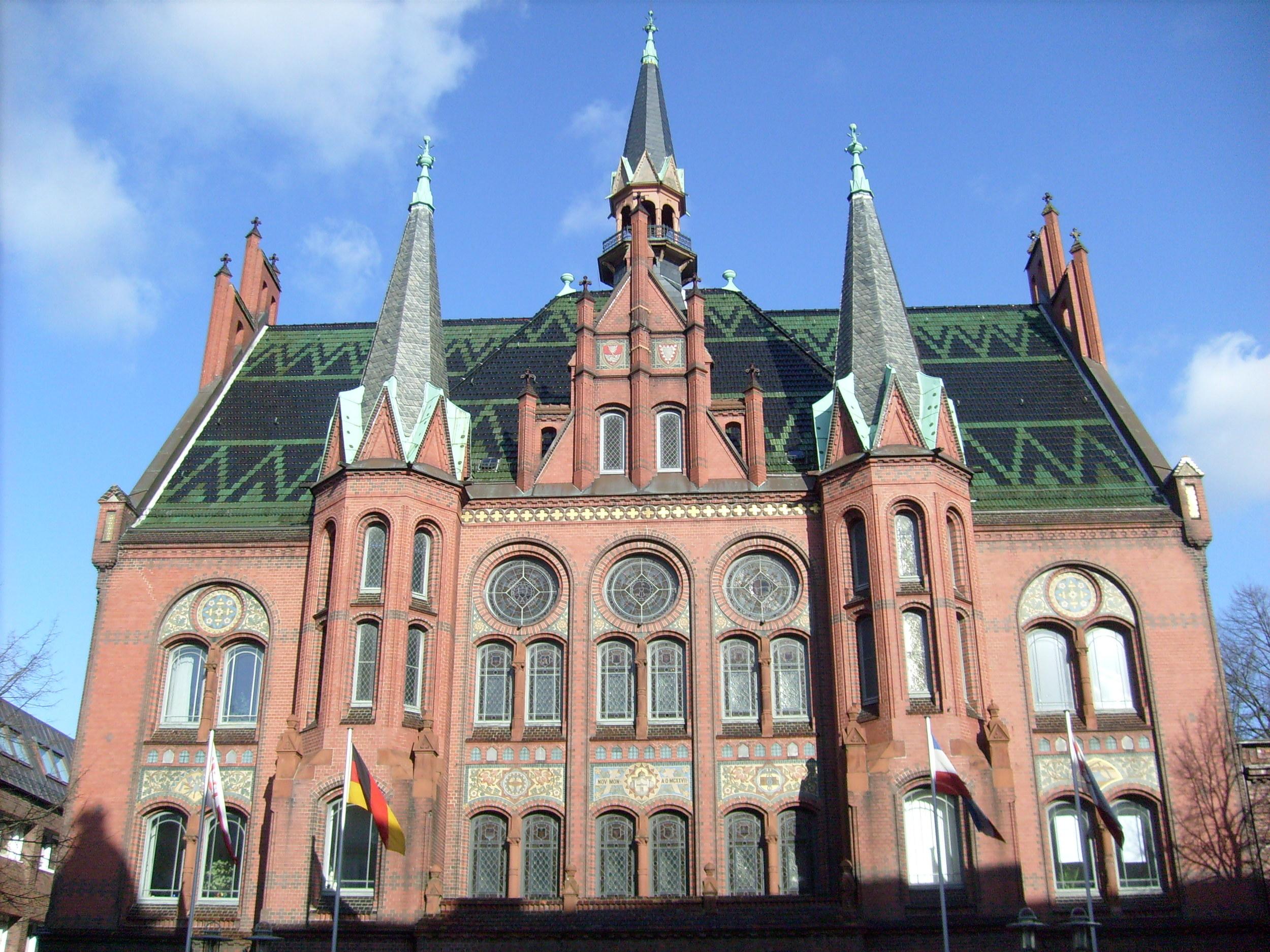 1898-1900; Magnus Schlichting, architect