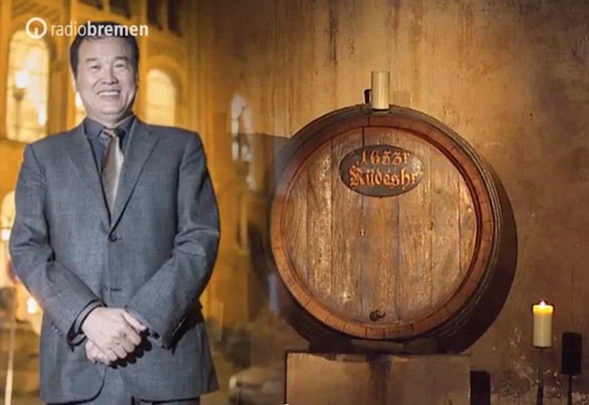 Customer willing to pay 150,000 euros for a bottle of Bremen's oldest wine (photomontage: radiobremen)