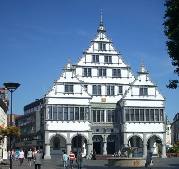 The Paderborn City Hall