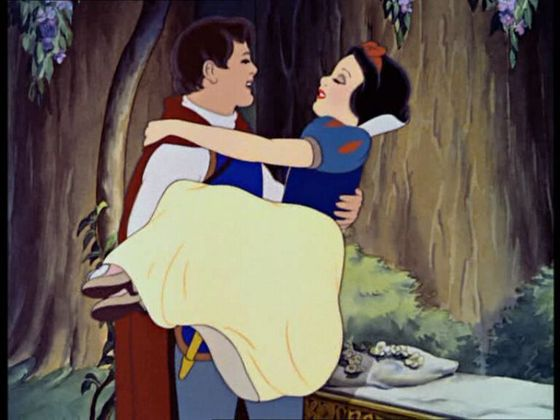 """Some day my prince will come."" (Disney)"