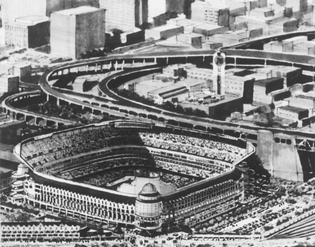 Proposal by Ben Swig for a Ballpark in SOMA (date unknown)