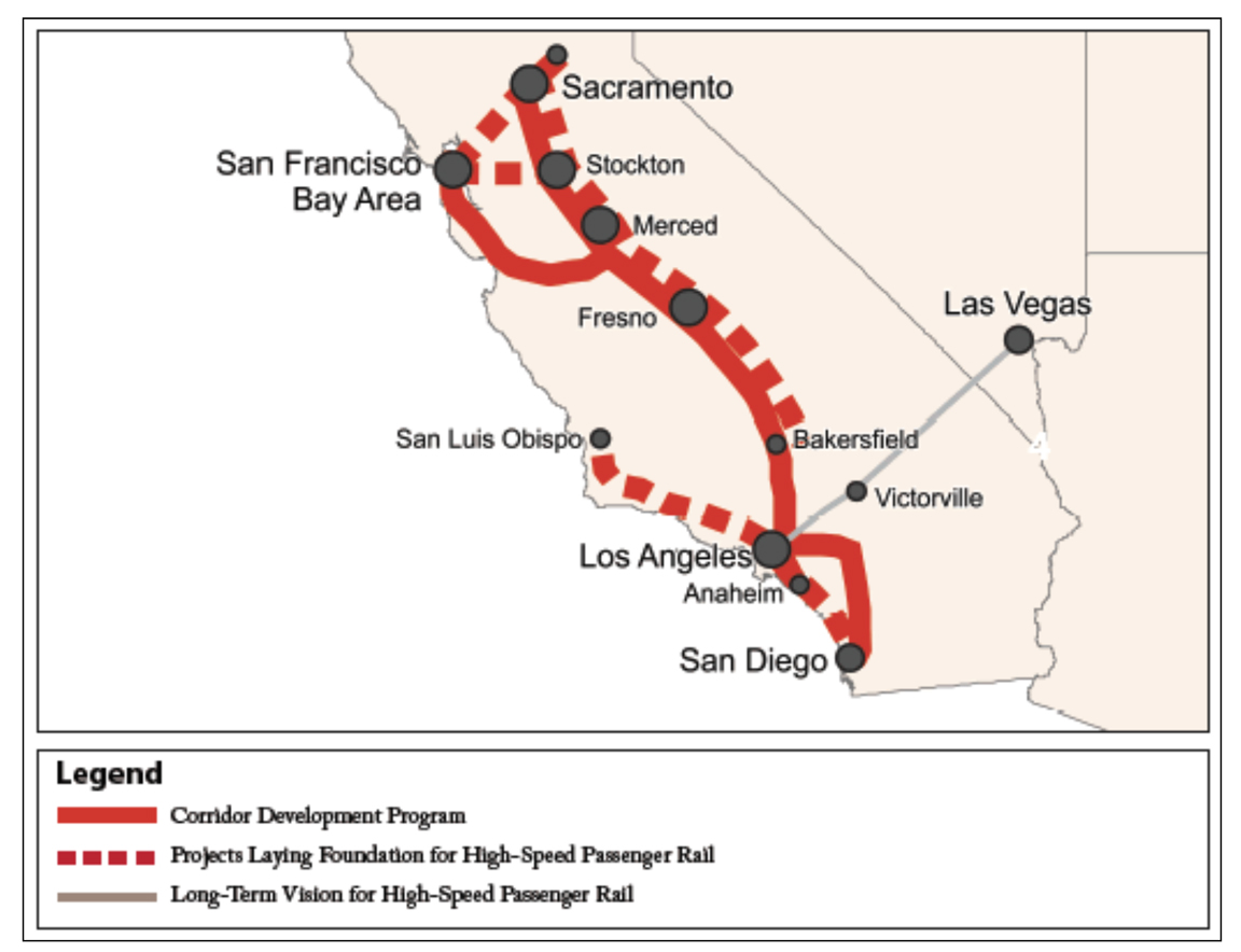 California High Speed Rail Overview, scheduled for completion in 2029