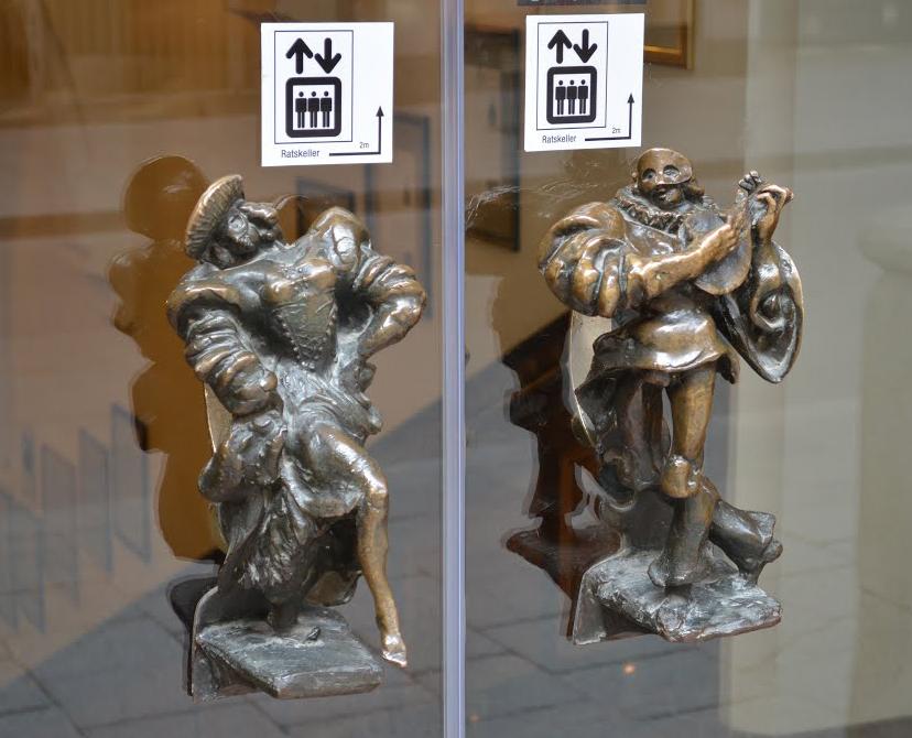 Morris Dancer Door Handles (photo: Alexander Prolygin)