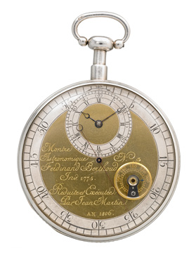 Jean Martin, astronomical pocket watch, 1806