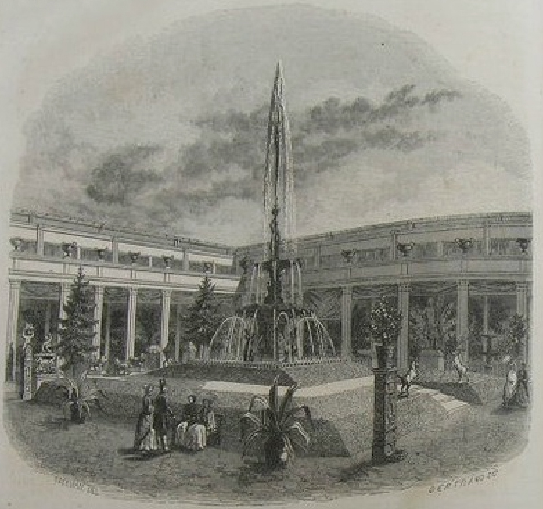 Courtyard of the 1849 exposition