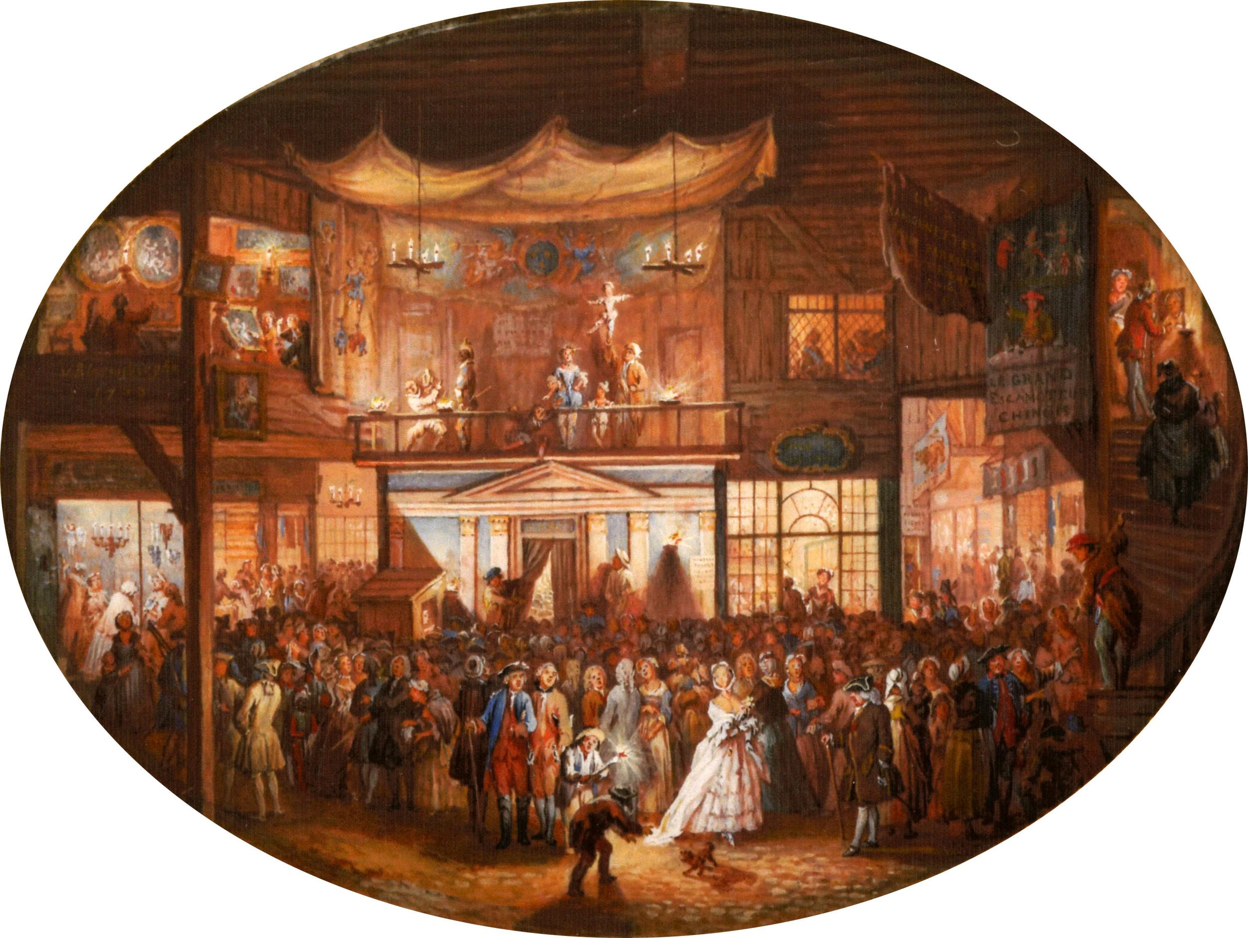 "Louis-Nicolas van Blarenberghe, ""The Saint Germain Fair,""1763 ( Click the image for a larger view )"