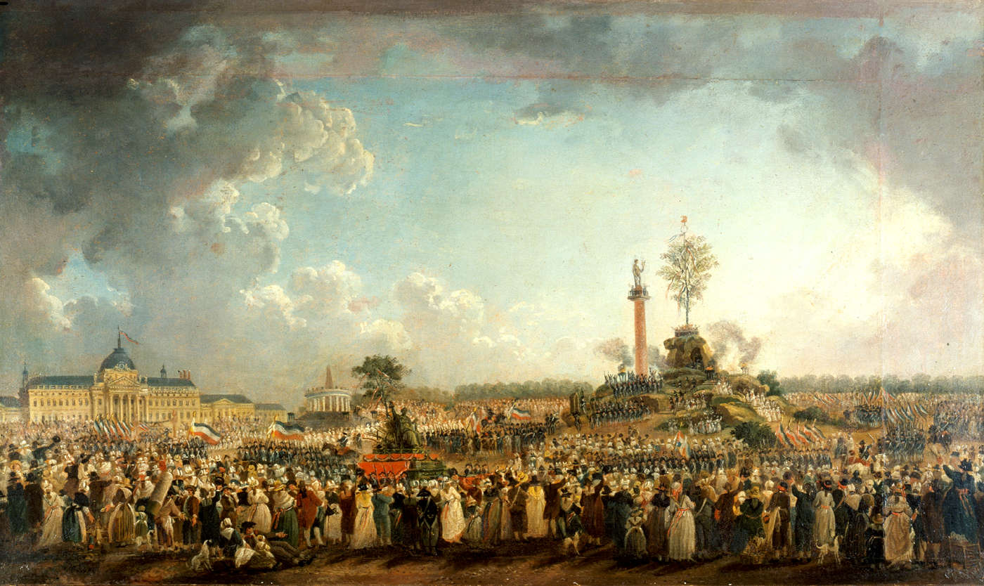 Festival of the Supreme Being, 1794
