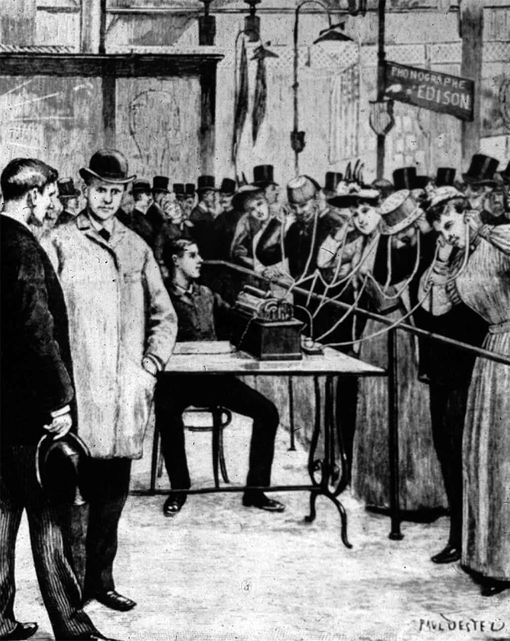 Long-Distance Listening at the 1889 Exposition