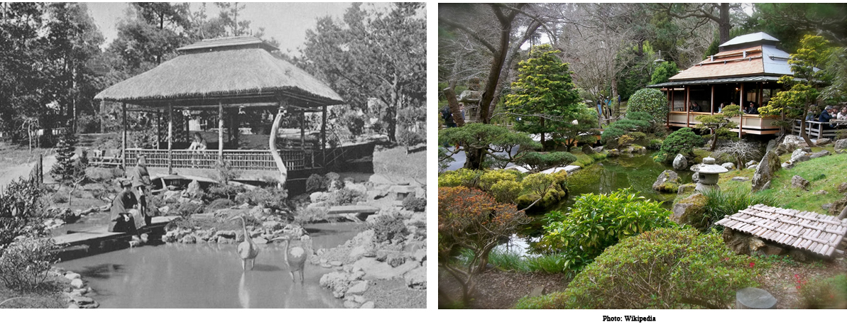THE JAPANESE TEA GARDEN IN 1894 AND 2016