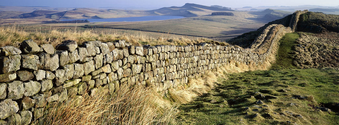 """Hadrian's Wall, """"the north-west frontier of the Roman Empire"""""""