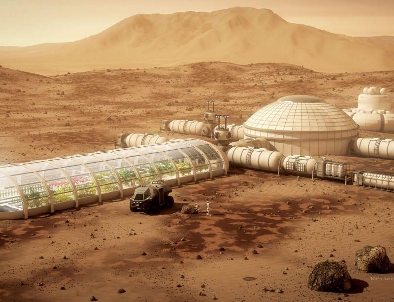 """Mars Colony,"" newscientist.com"