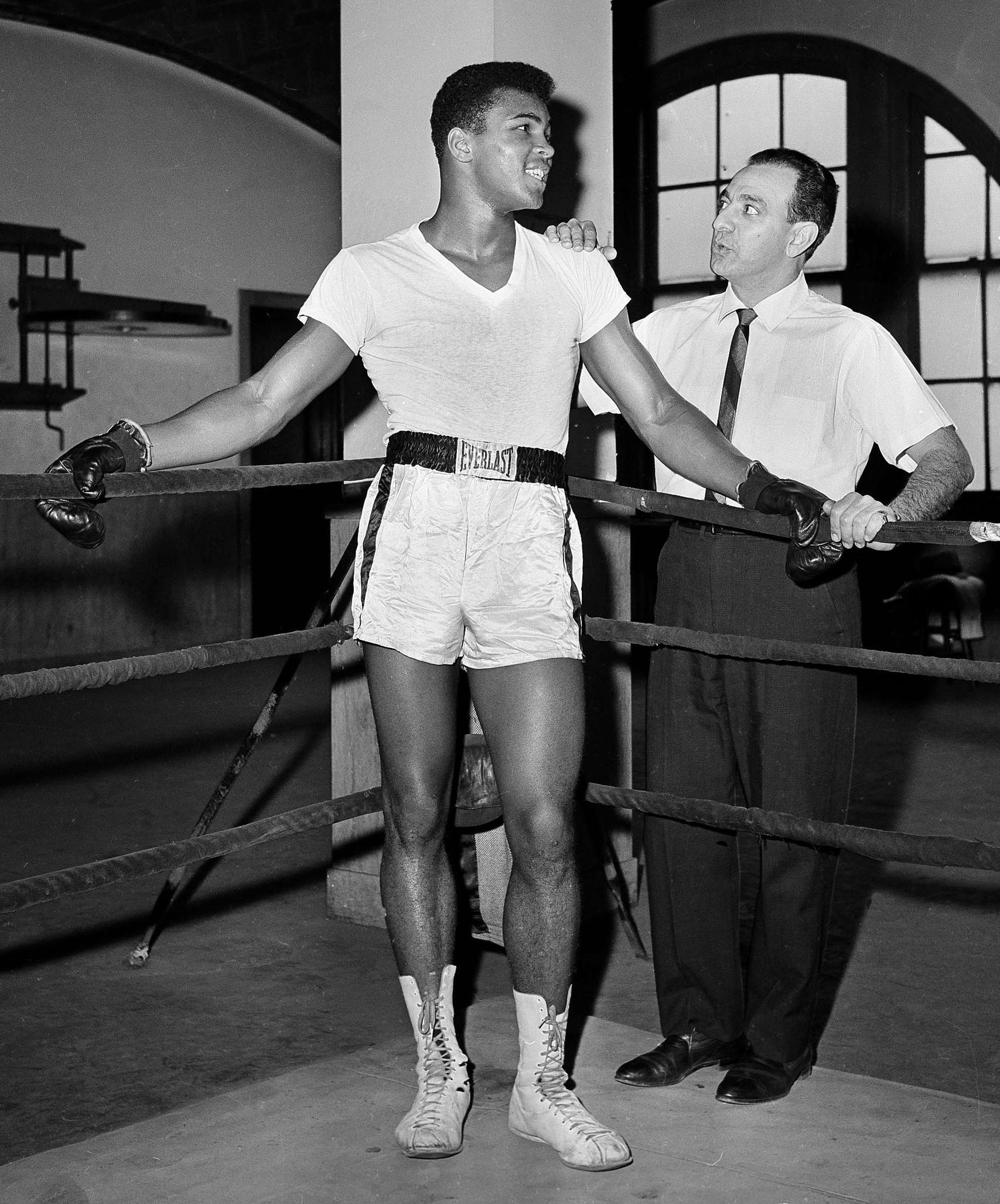 Ali, Dundee . City Parks Gym, New York,1962