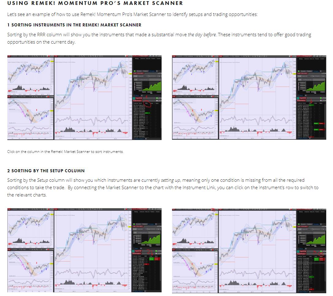 The Remek! Market Scanner