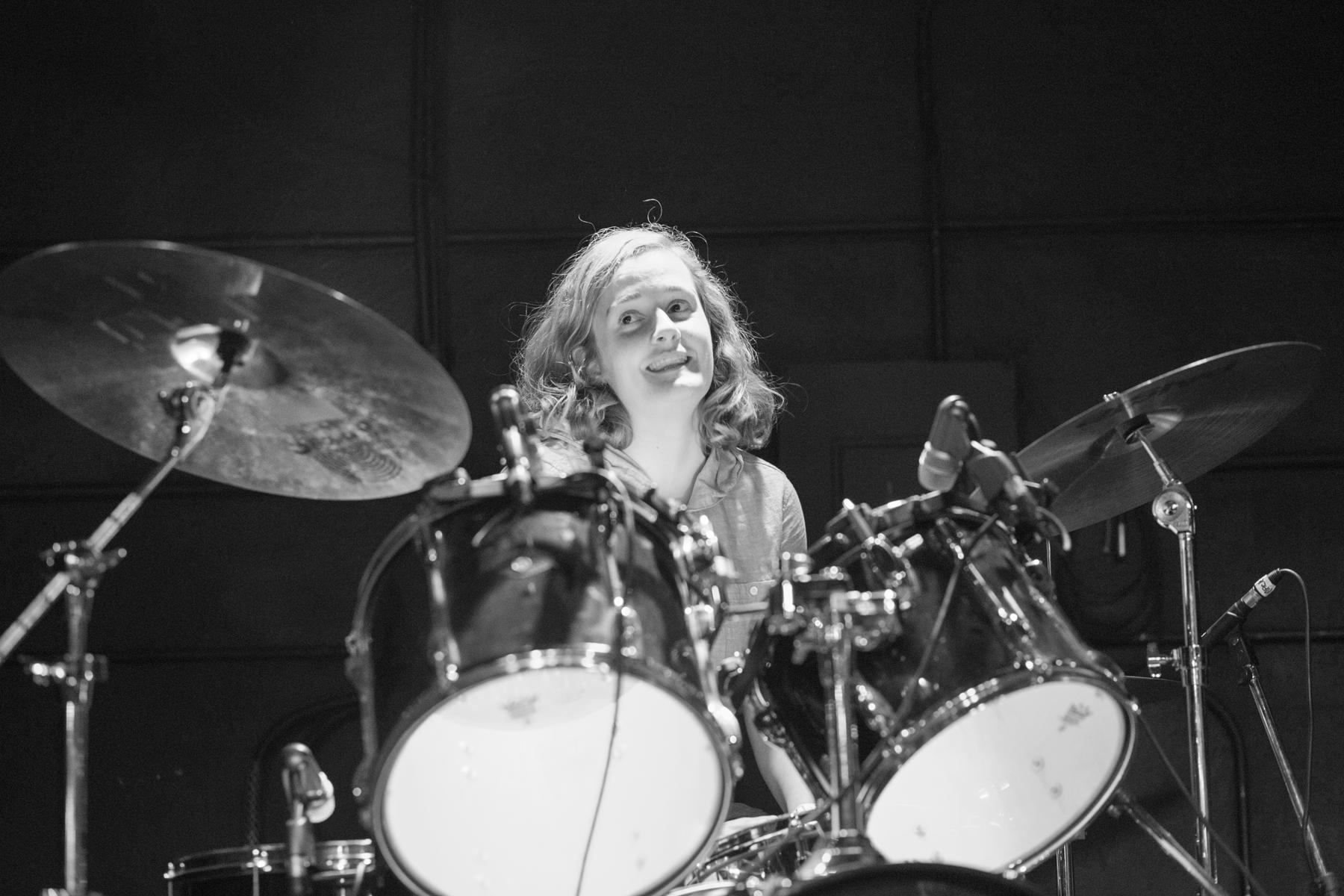 Izzy True at The Haunt. 2015.