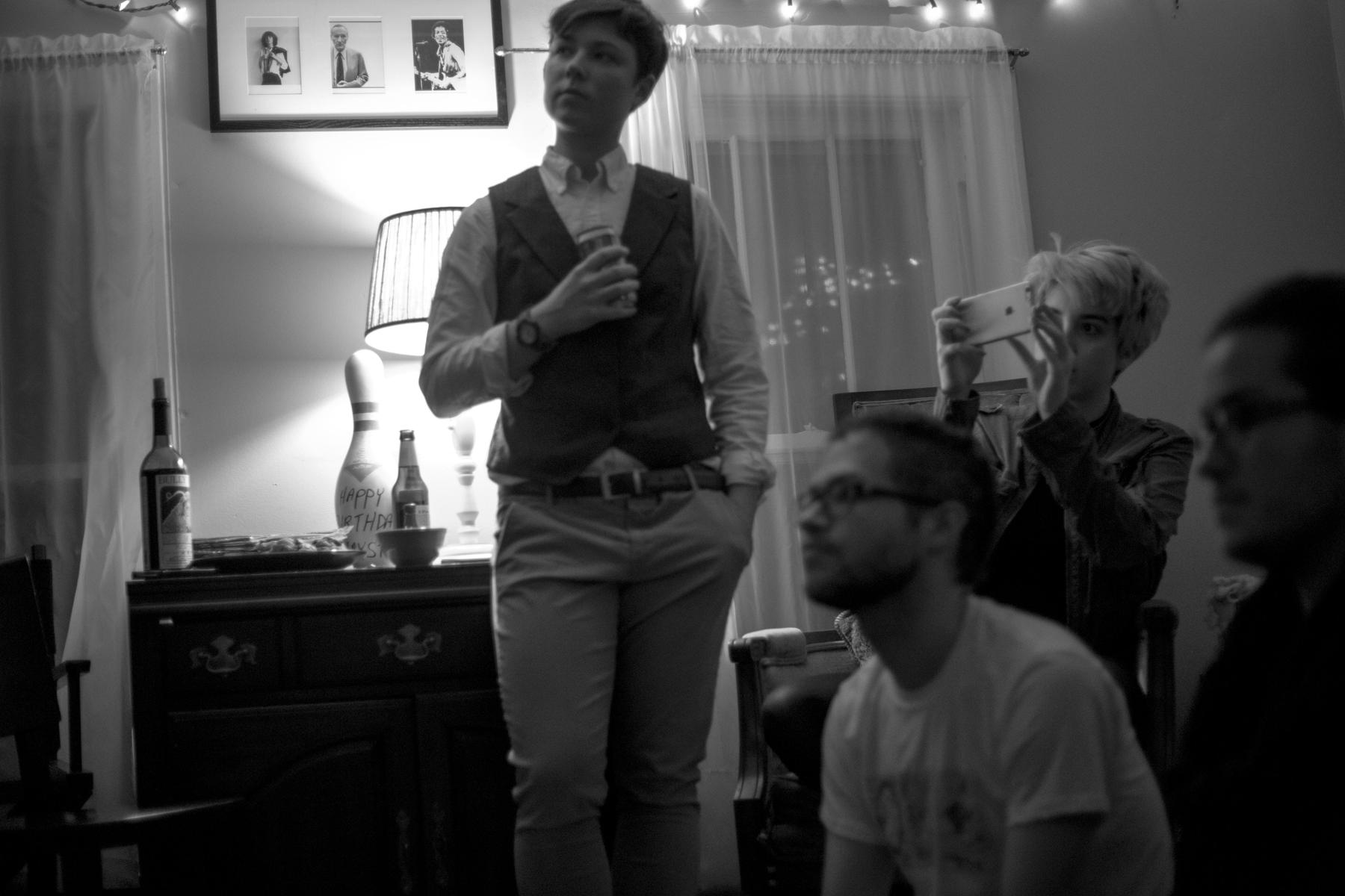 Clockwise from left: Jess Bennett, Krystal Cannon, Mars Hurd, Benjamin Torrey / Unknown photographer