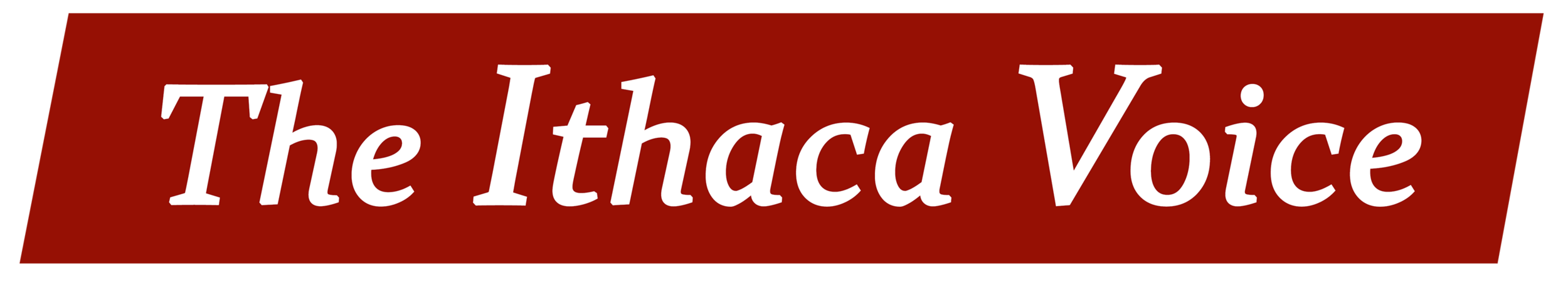 Logo for The Ithaca Voice. 2015.