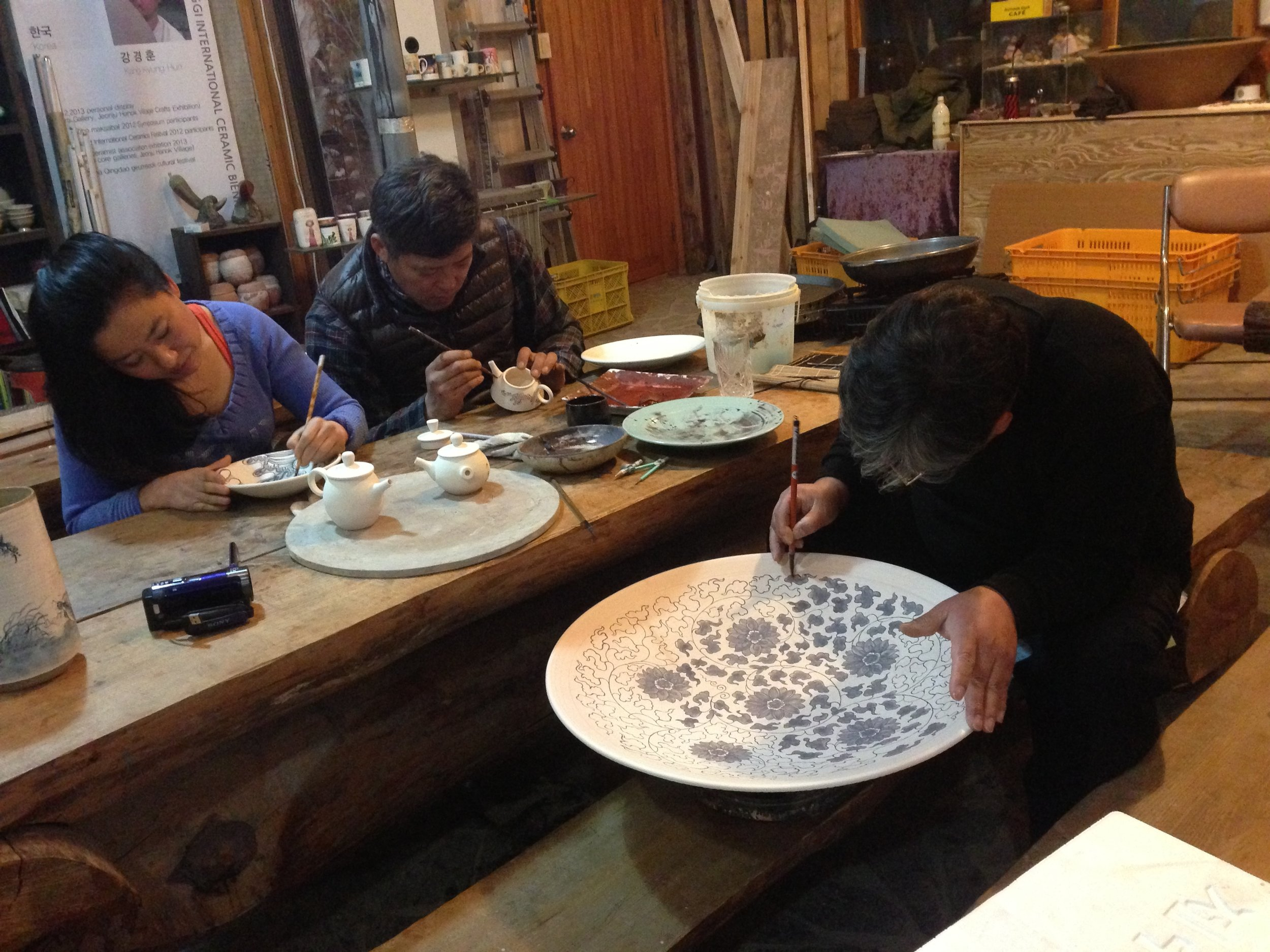 Workshop in Korea