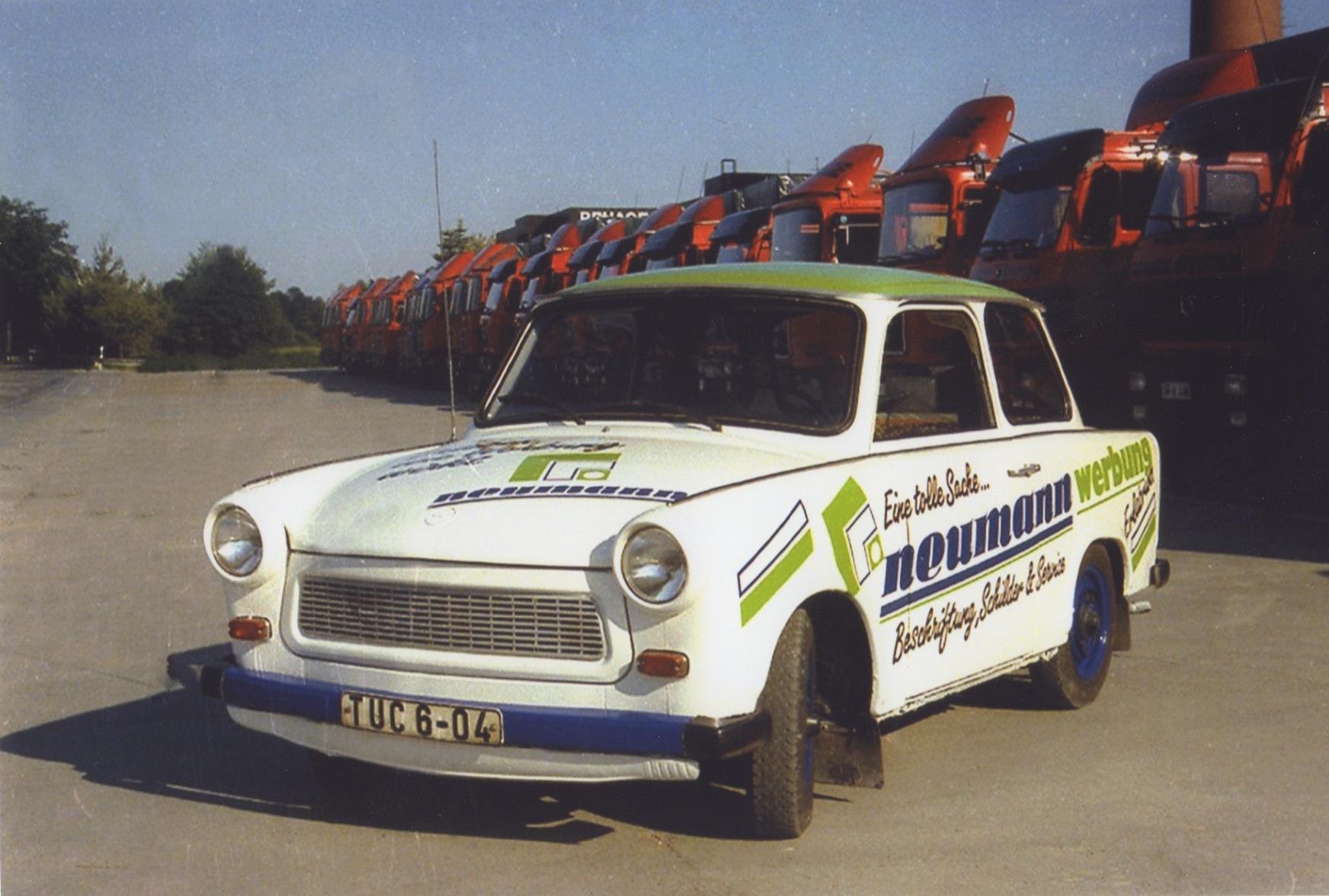 1989 - 1993: Stützpunkt in Erlabrunn / Erzgebirge