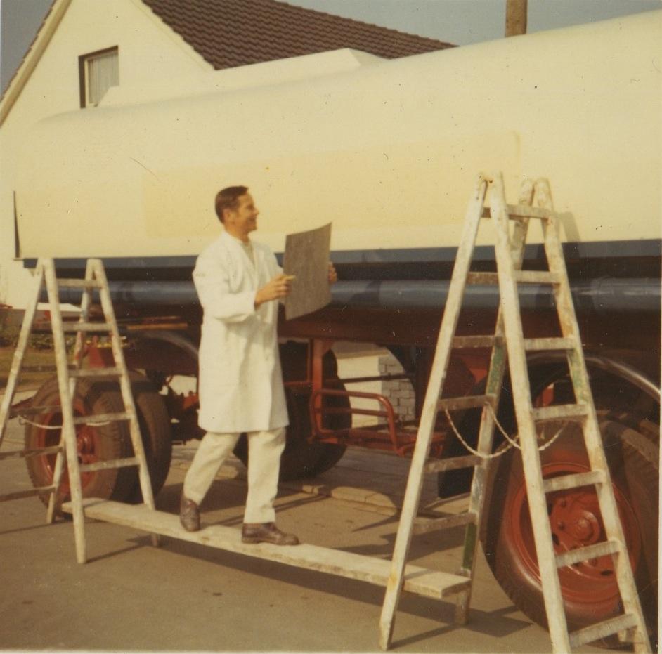 1959: Gründung durch Otto Neumann als Dekorationsmalerei