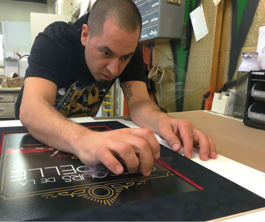 Attention to detail is our master framers' speciality.