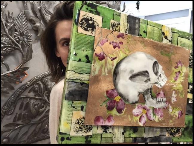 Chico artist Kathryn Silvera.