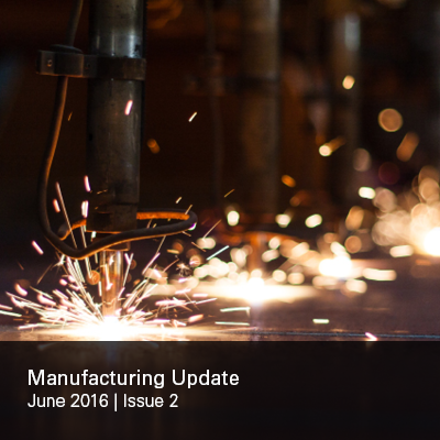Manufacturing Update Issue 2