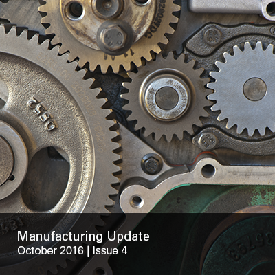 Manufacturing Update Issue 4