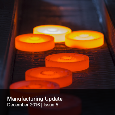 Manufacturing Update Issue 5