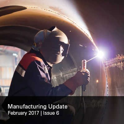 Manufacturing Update Issue 6