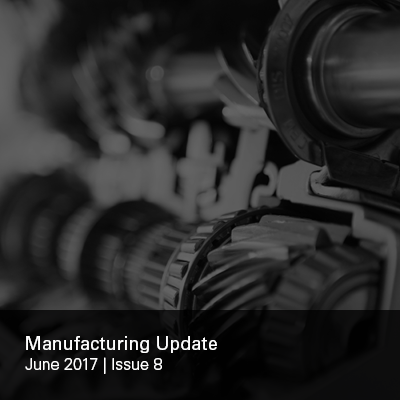 Manufacturing Update Issue 8