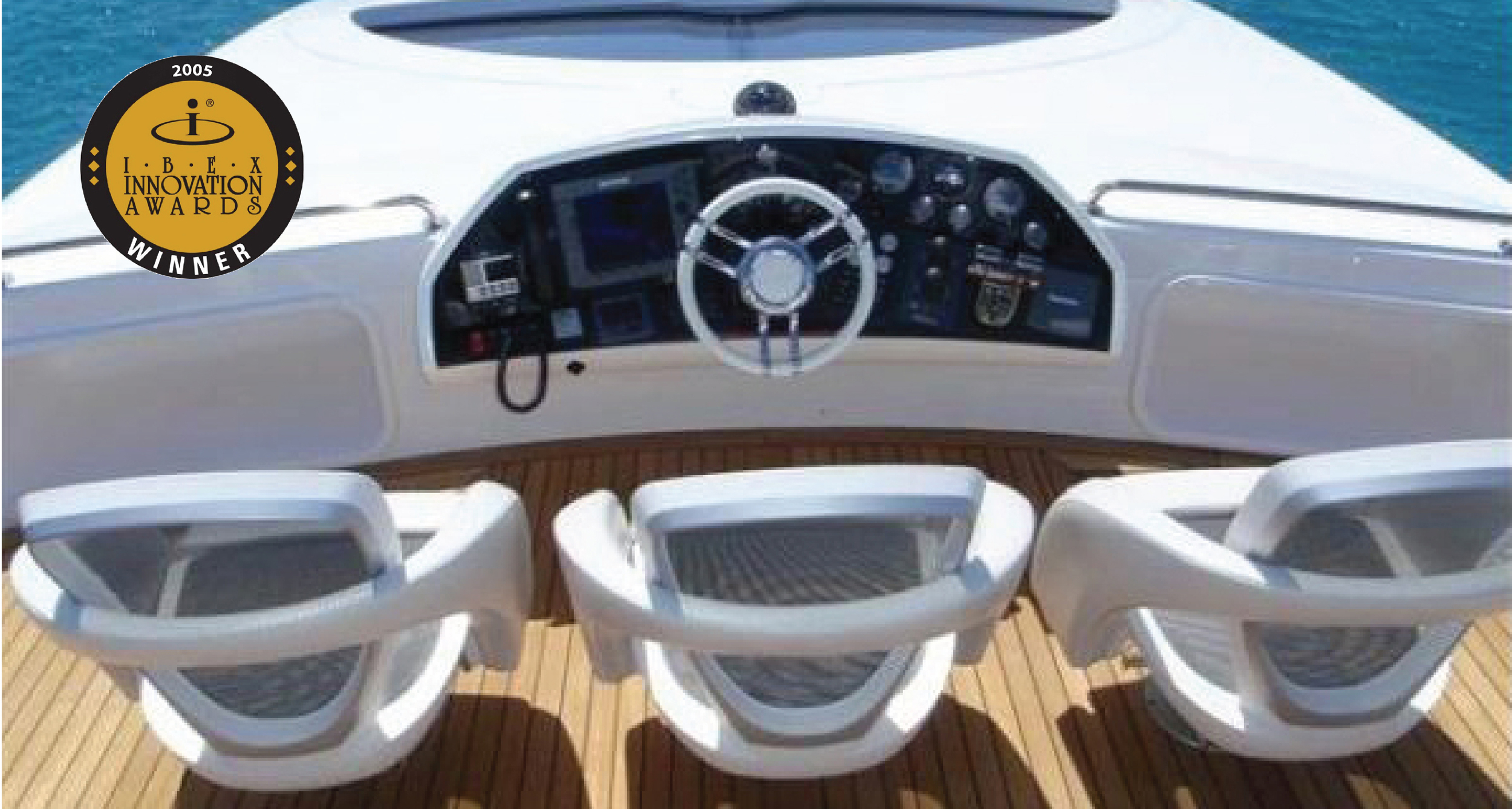 Visionair Boat Seat at Helm - Launch Innovation