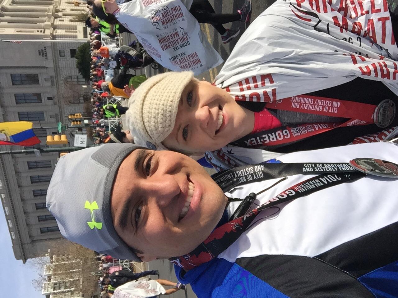 Wendy ran the half-marathon in under 2 hours :D