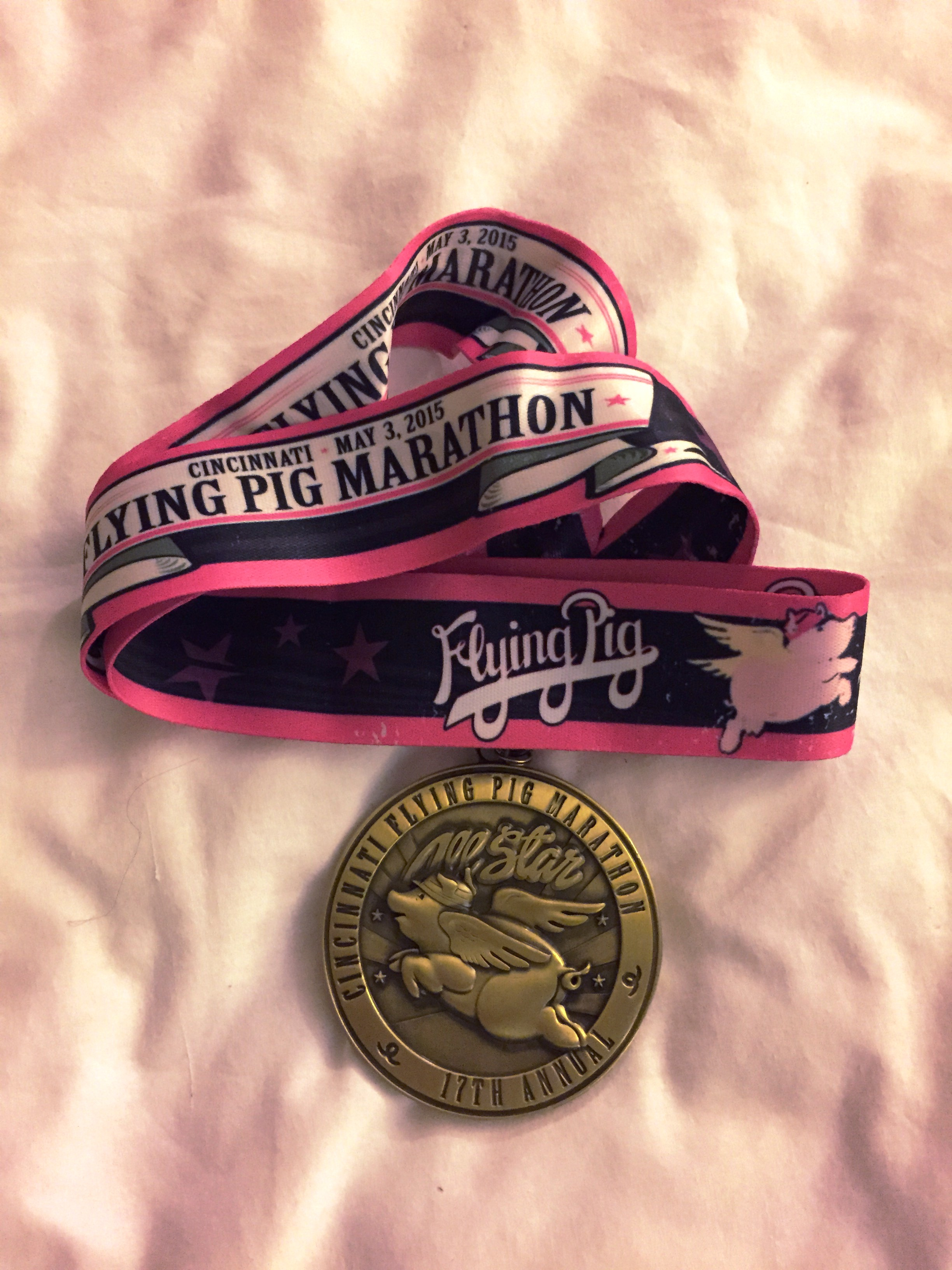 FLYING PIG MARATHOn Medal