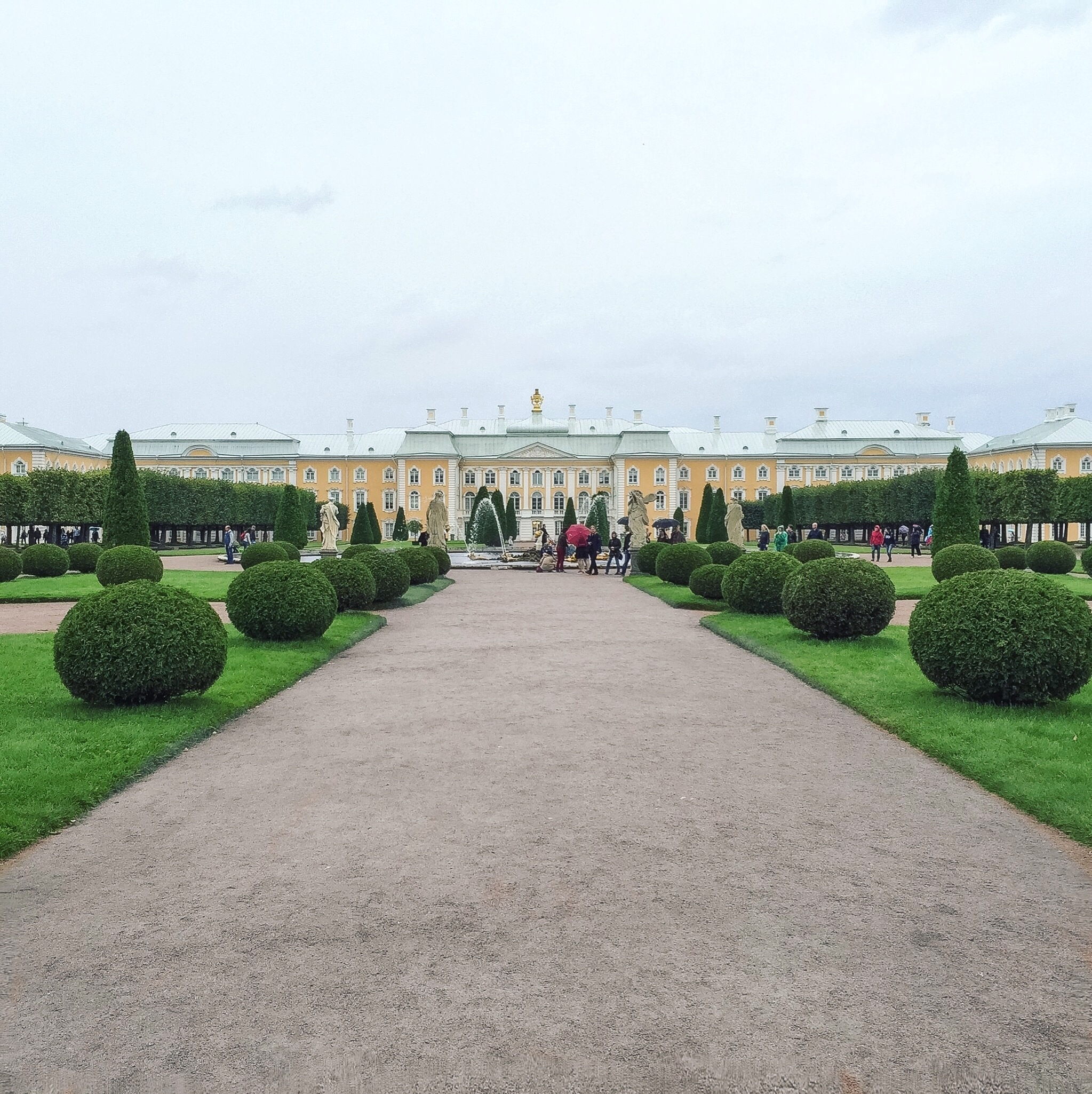 Saint Petersburg Petergof Summer Palace