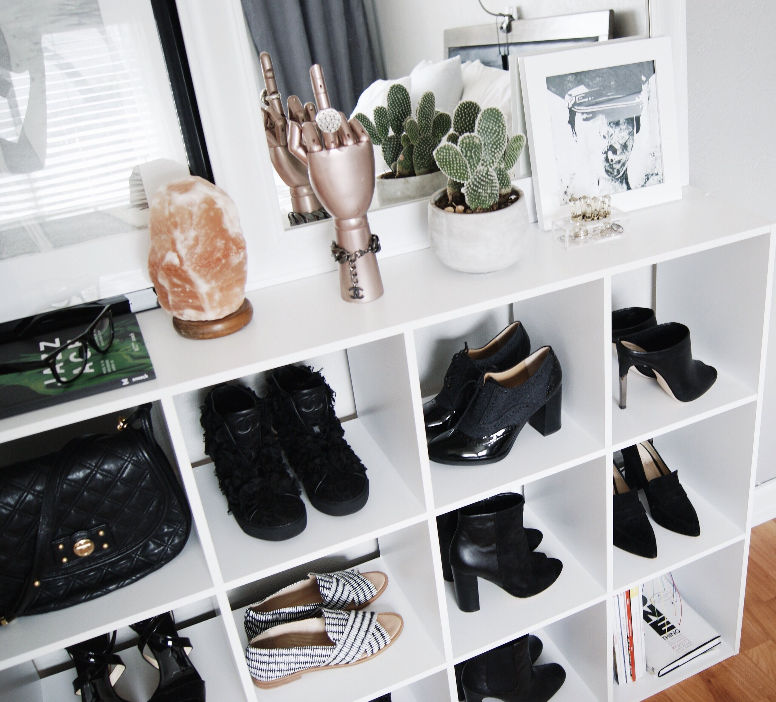 silent imagery shoe display storage home design