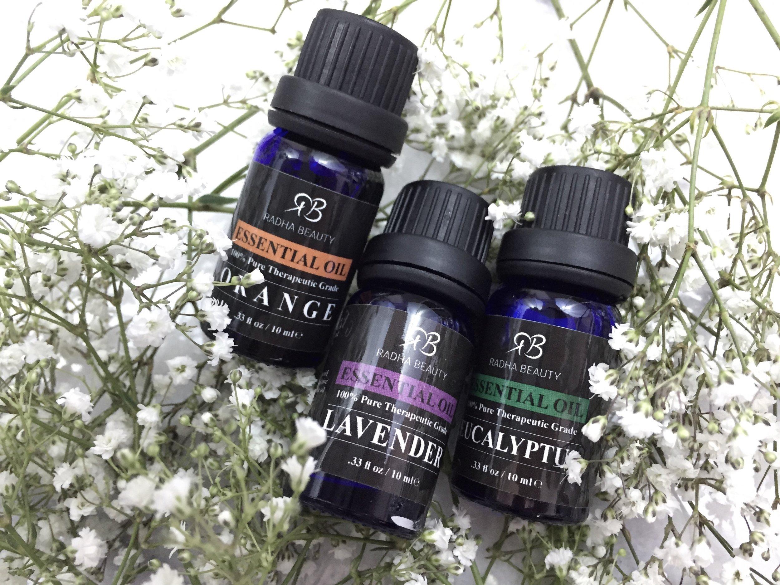 Aromatheropy essential oils totally rad radha beauty